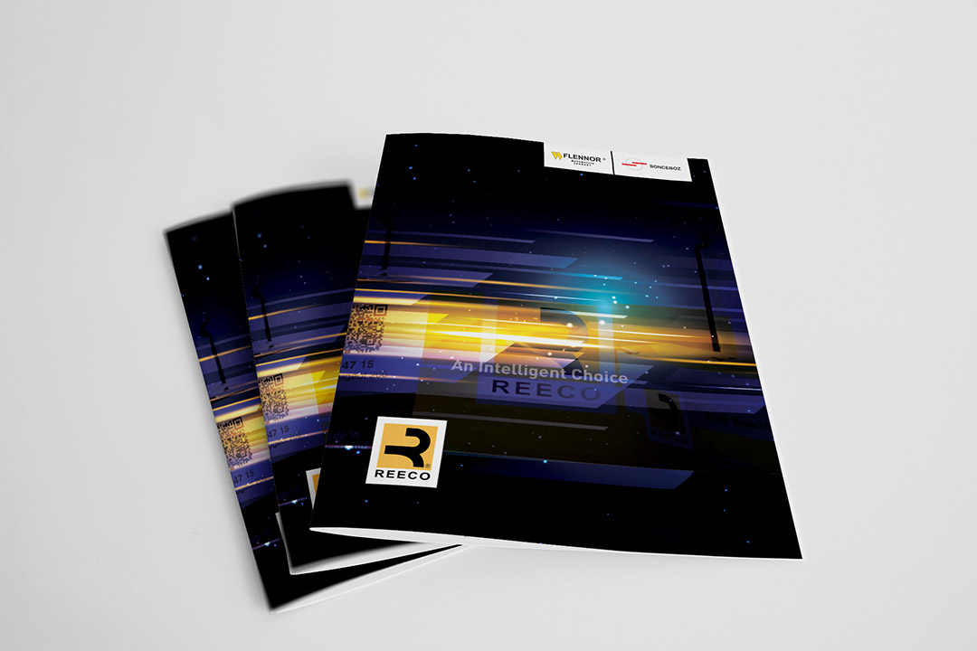 طراحی و چاپ کاتالوگ محصولات شرکت ریکو