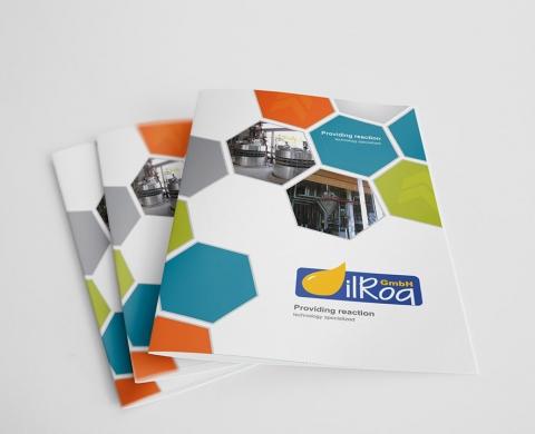 طراحی کاتالوگ شرکت OilRoq