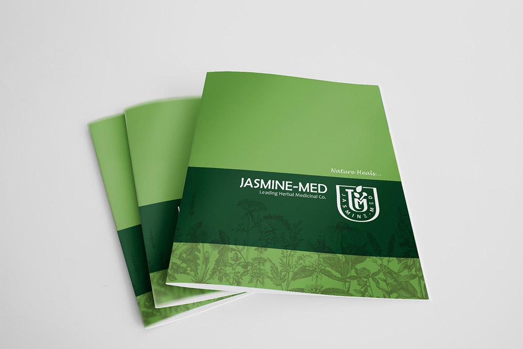 طراحی کاتالوگ شرکت Jasmin-Med