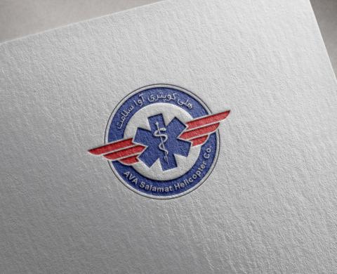 طراحی لوگوی آوا سلامت