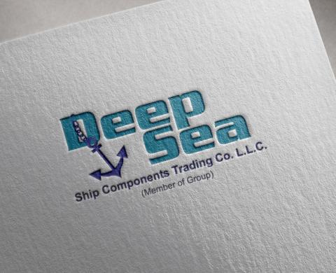 طراحی لوگوی شرکت DEEP SEA